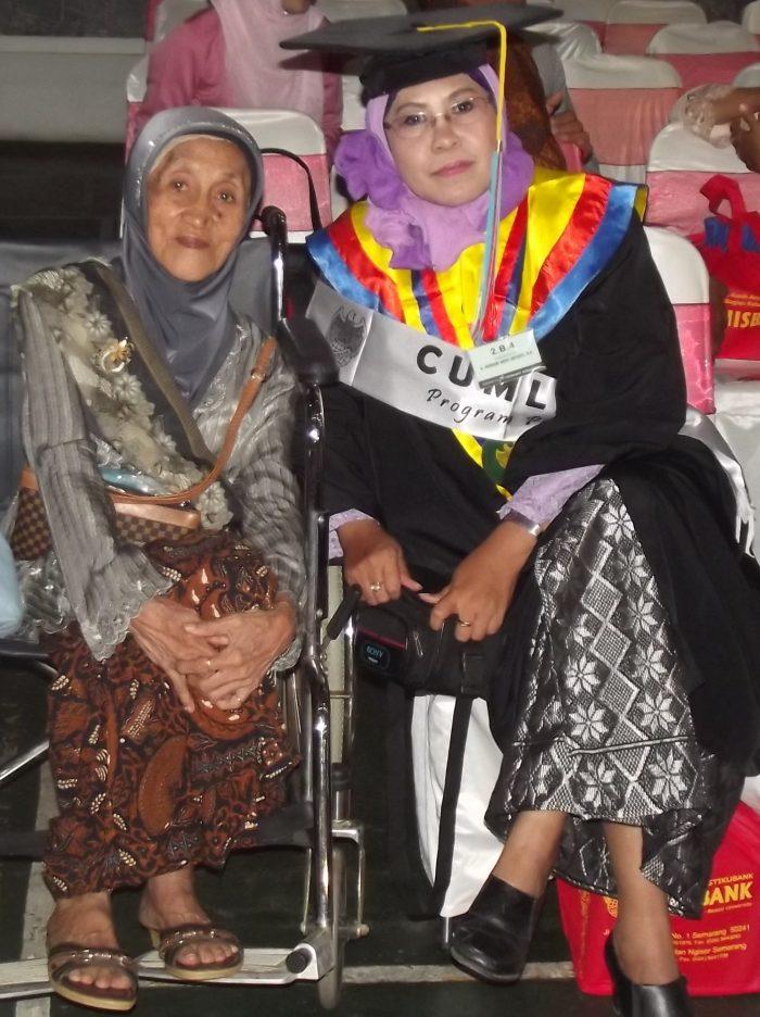 Kenangan bersama Ibu
