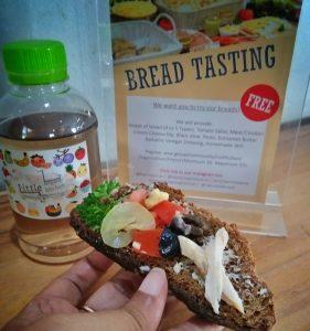 Bread tasting di Kafe Basilia Semarang