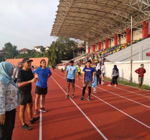 Healthy sharing by Semarang Runners