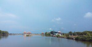 Pemandangan Pusat Informasi Mangrove Pekalongan