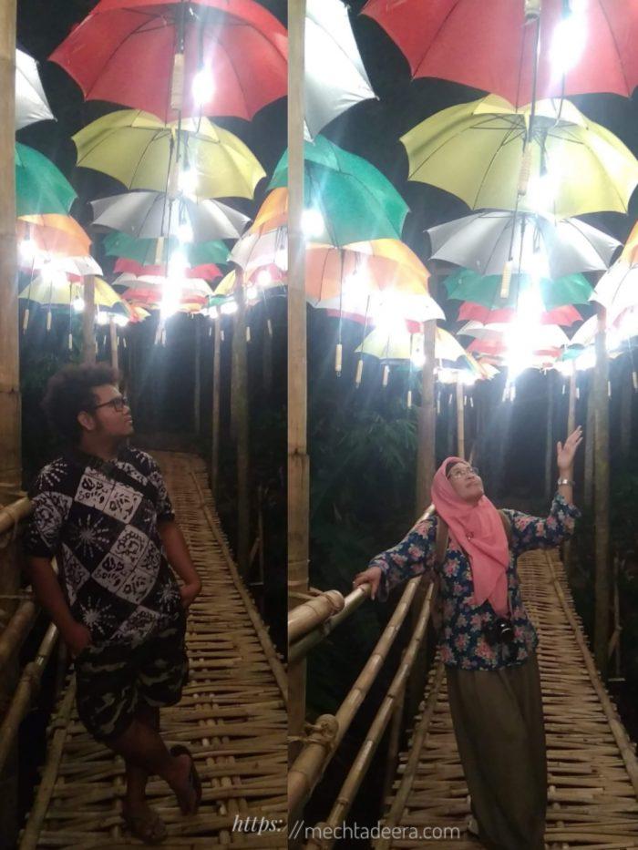 Jembatan Comblang Curug Gondoriyo