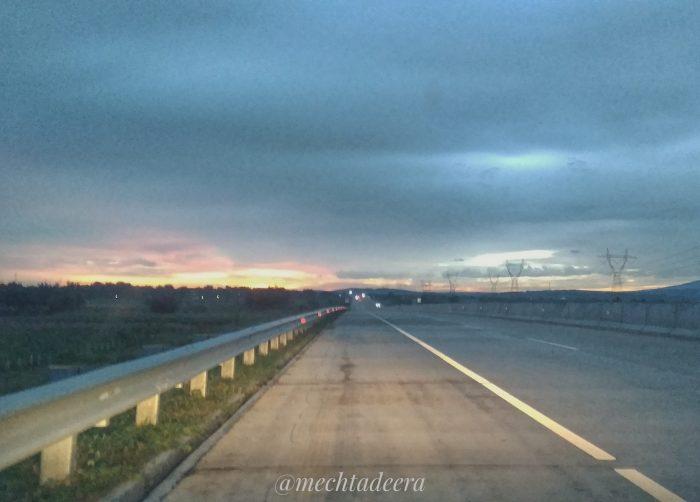 Awal perjalanan pagi Pekalongan-Solo via tol