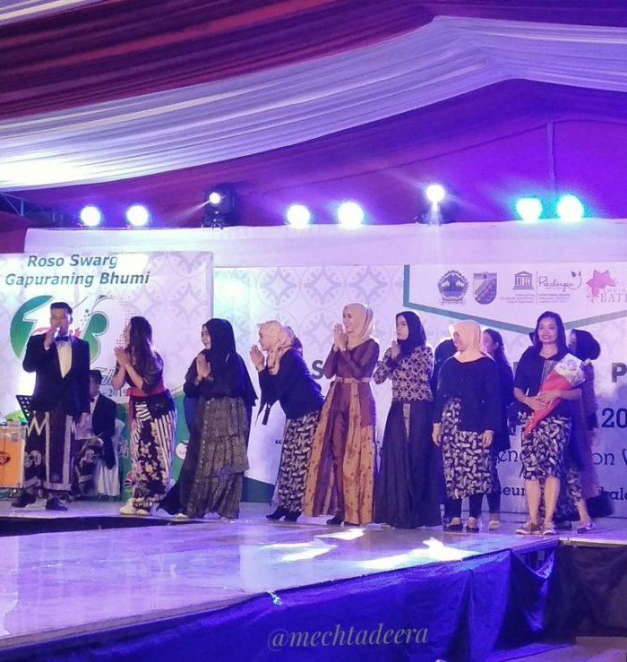 Desainer Fashion Show Batik Pekalongan 2019