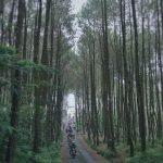 Akses jalan masuk/keluar Top Selfie Pinusan Kragilan
