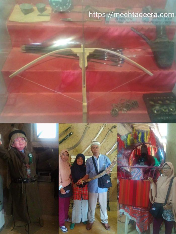 Senjata perang & Tandu di Al Amoudi Museum
