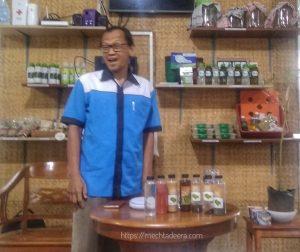Narasumber Kelas Membuat Kopi Okra