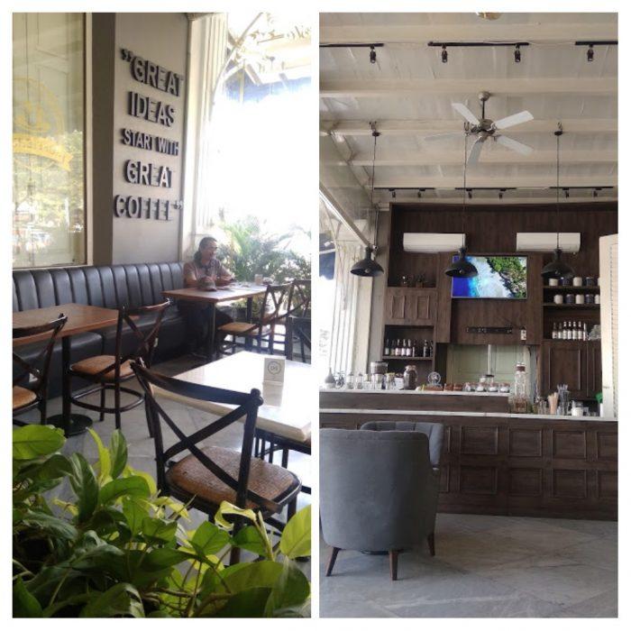 Bag Cafe di Rosti Resto & Cafe Semarang