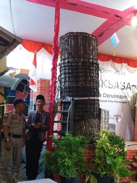 Lopis Raksasa di Perayaan Syawalan Kota Pekalongan