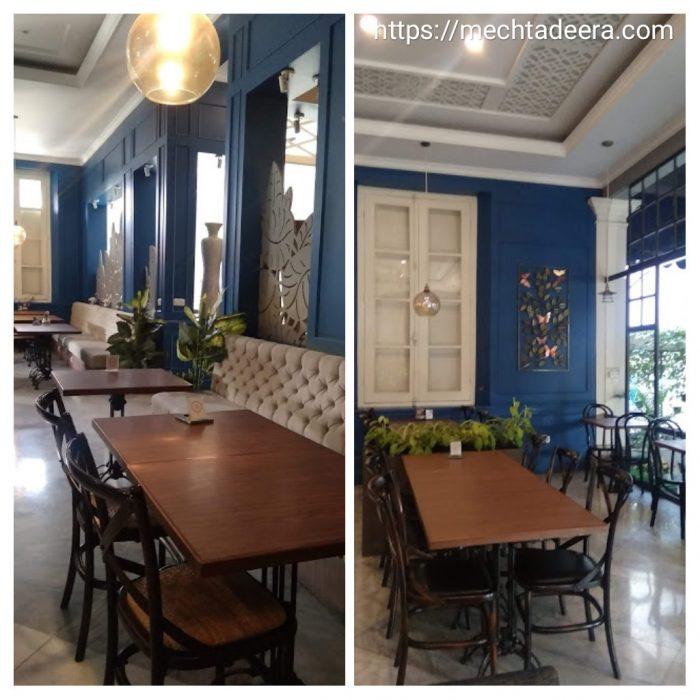 Resto indoor Rosti Resto & Cafe Semarang