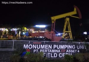 Monumen Pumping Unit Cepu
