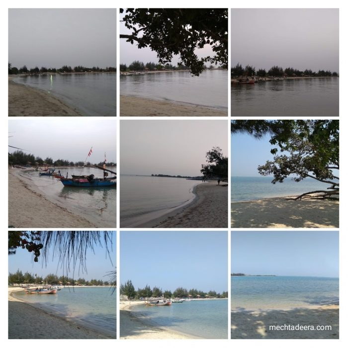Pantai di Sekuro Village Beach Resort