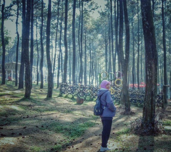 Pagi di Sikembang Park