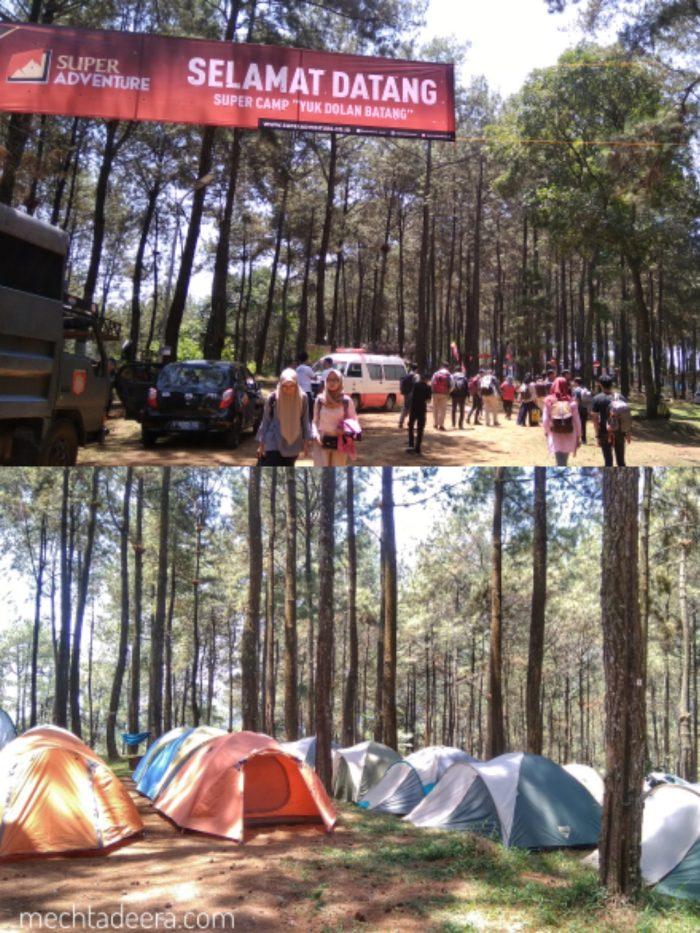 Sikembang lokasi Super Camp Yuk Dolan Batang