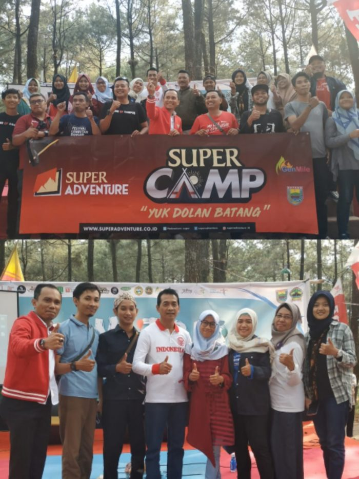 Peserta Super Camp Famtrip Batang 2019