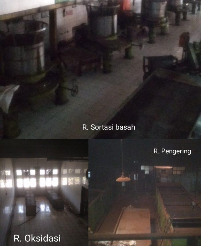 Ruang pabrik teh Pagilaran