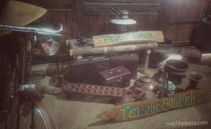 Peralatan Jadul di Kampung Jawa Pawone Simbah