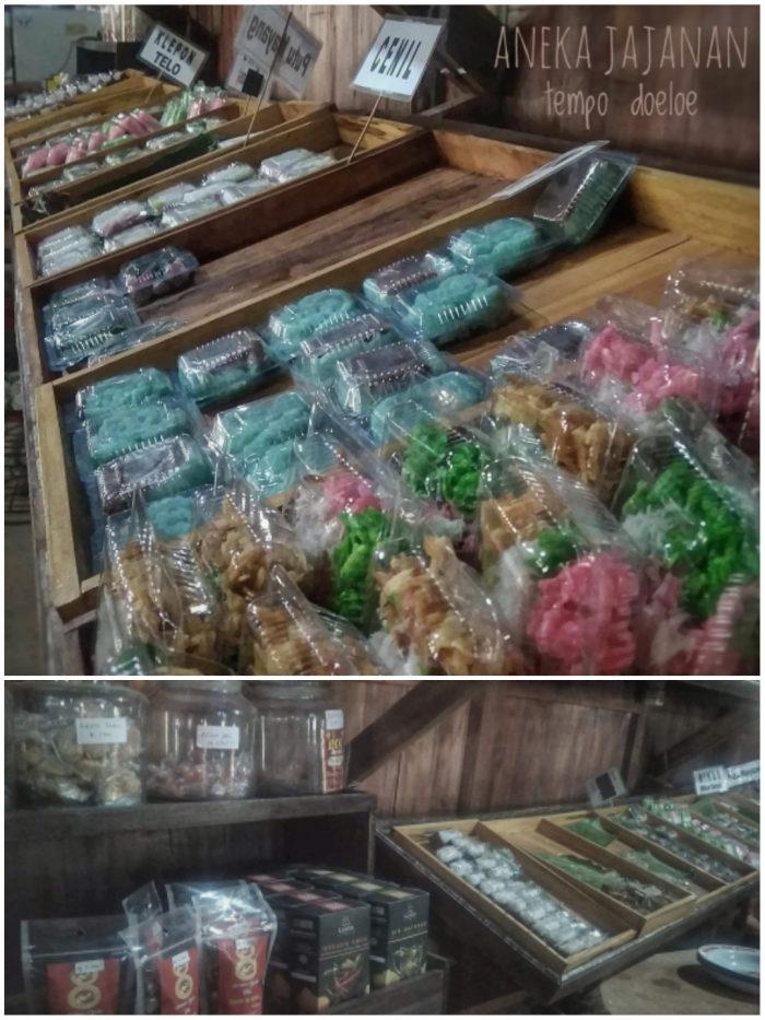 Pojok Jajanan Jadul di Kampung Jawa Pawone Simbah