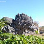 Patung Kepala Garuda di GWK