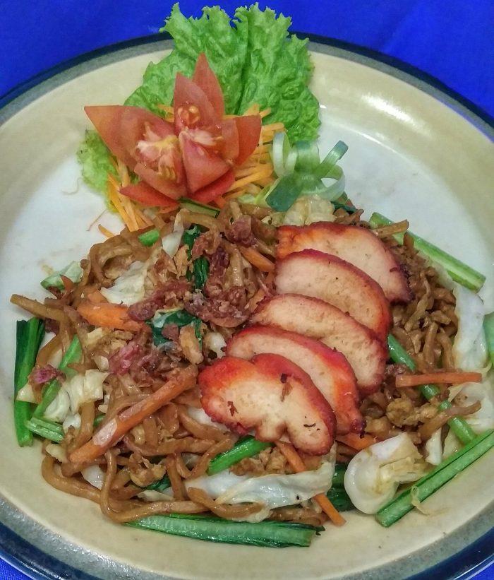 Mie Goreng Ayam Char Siu The Kitchen Resto Horison Pekalongan