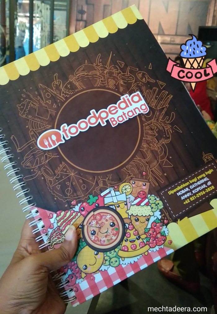 Buku Menu Foodpedia Batang