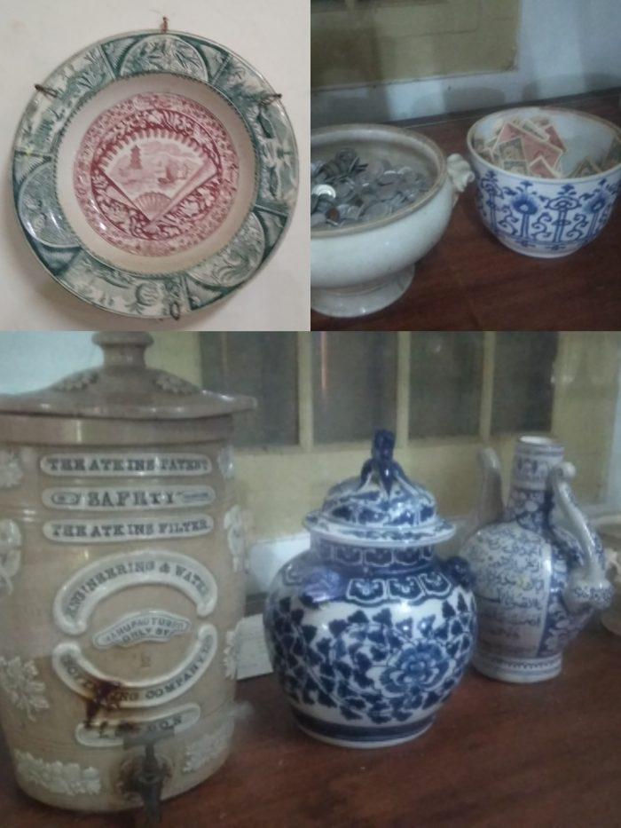 Keramik kuno di Keraton Kacirebonan