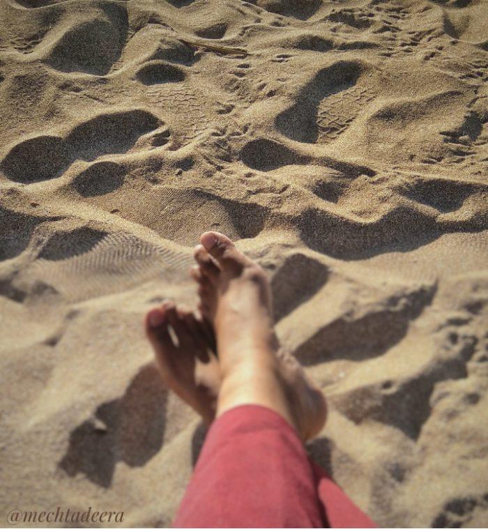 Me time di pantai