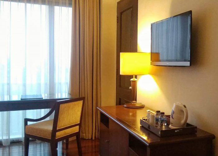 Salah satu sudut kamar di The Sunan Hotel Solo