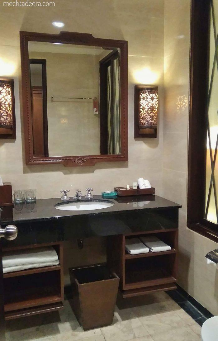 Kamar mandi Hotel Sunan Solo