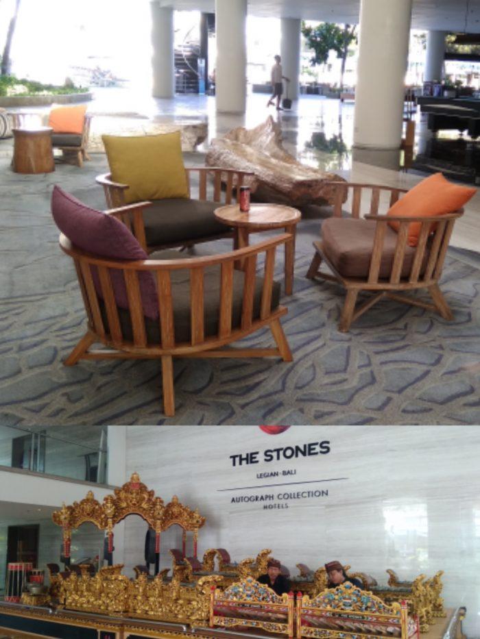 Lobby The Stones Hotel Bali