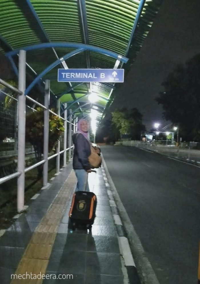 Menuju Terminal B Adisucipto Jogja
