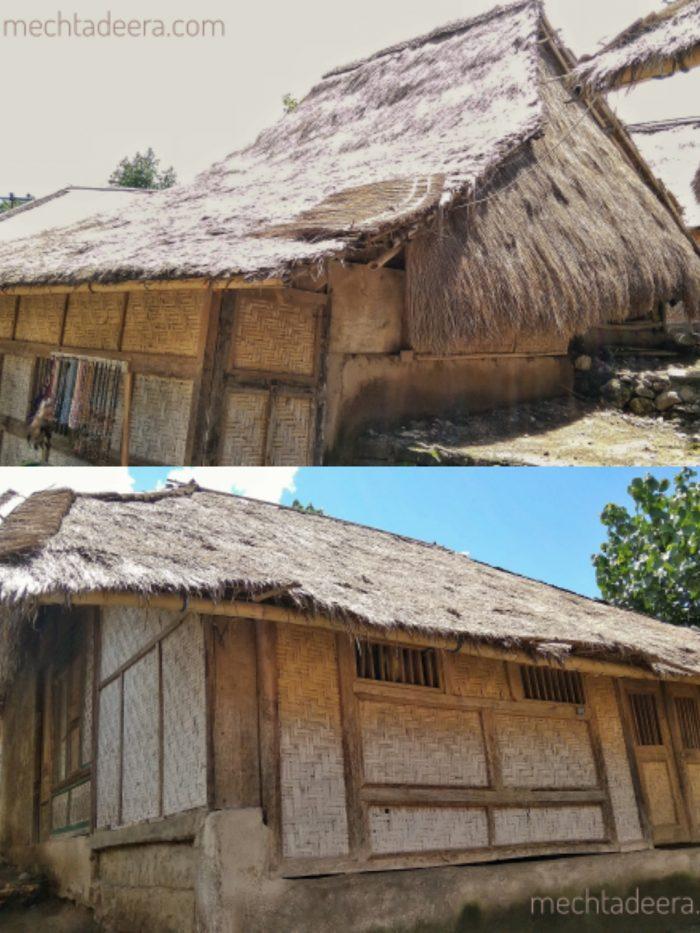 Bale di Desa Sade Lombok