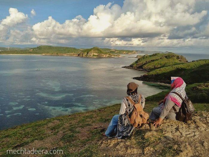 Di Bukit Merese Lombok