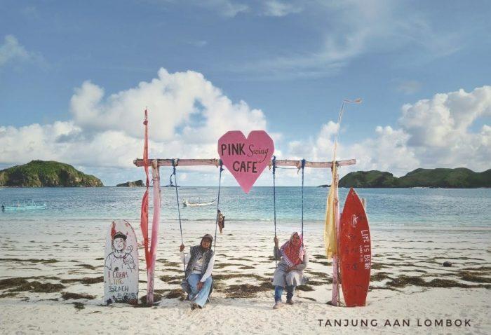 Spot foto di Pantai Tanjung Aan