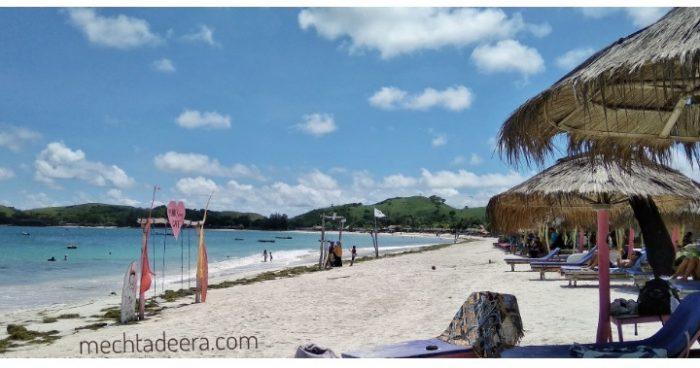 View Pantai Tanjung Aan Lombok