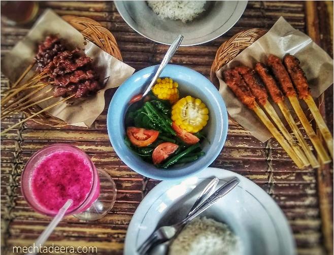 Sate Rembiga dan Sate Pusut di RM Sate Rembiga Lomboku