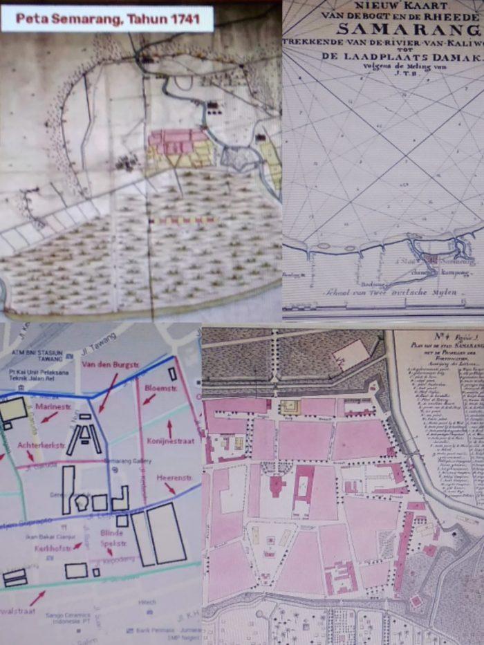 Peta kuno Kota Semarang