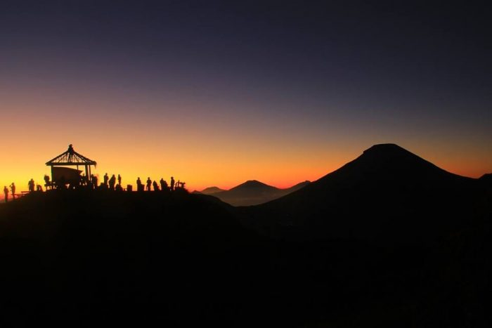 Sunrise at Sikunir Dieng