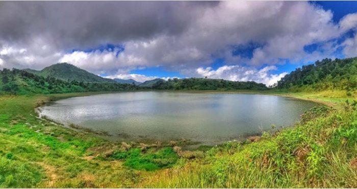 View Telaga Dringo Dieng