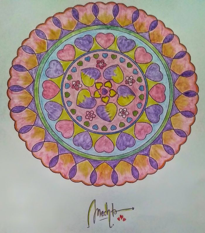 First Mandala Self-love