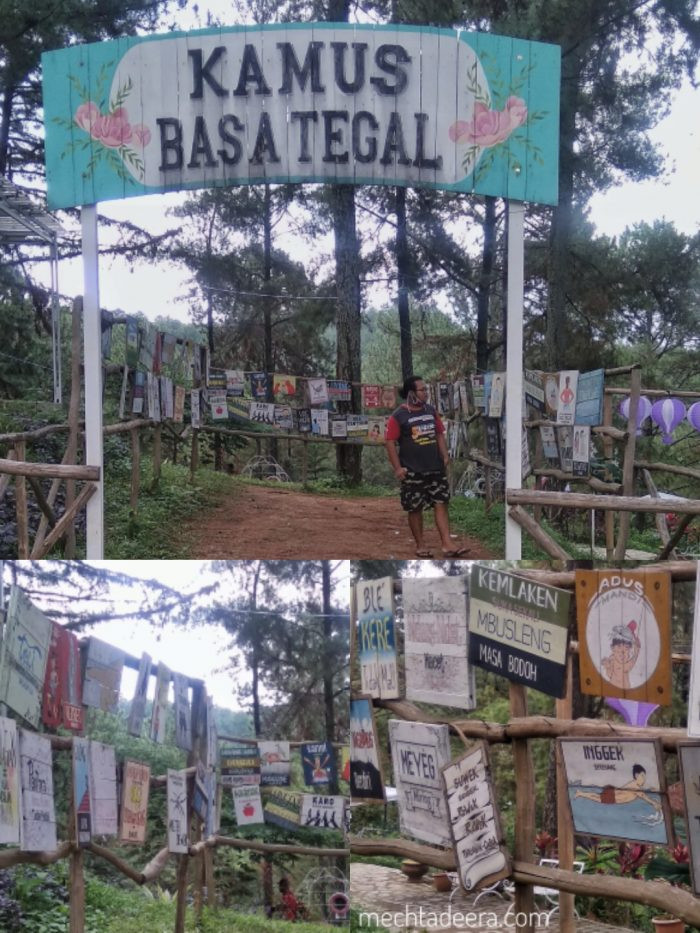 Kamus Basa Tegal di Clirit View