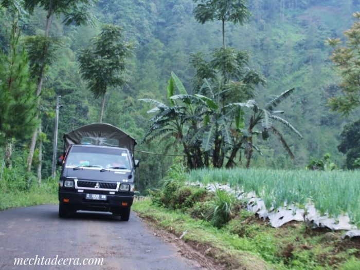 Transportasi dan alam Petungkriyono