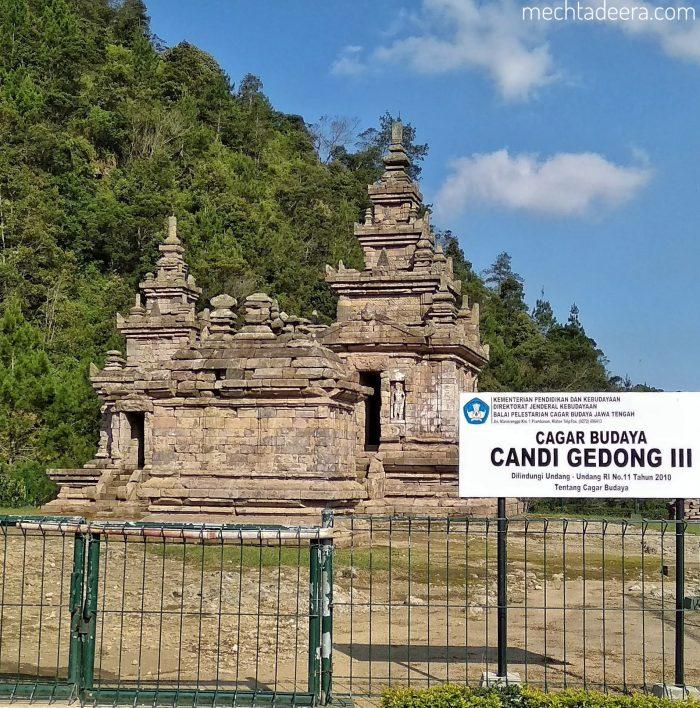 Candi Gedong III Gedongsongo