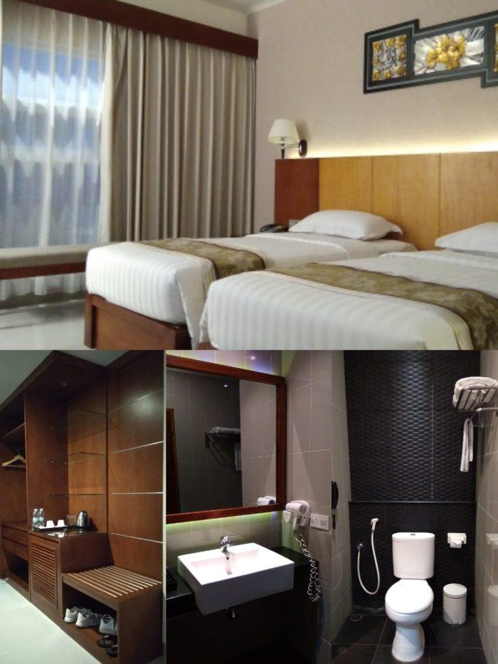 Kamar deluxe di Griya Persada Hotel n Resort Bandungan