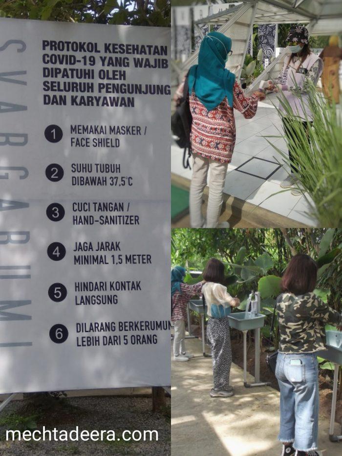 Protokol kesehatan di Svargabumi