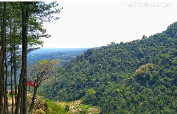 View dari Gumuk Reco Sepakung