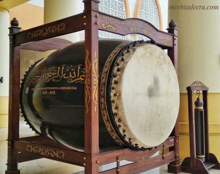 Bedug Masjid Hubbul Wathan Mataram