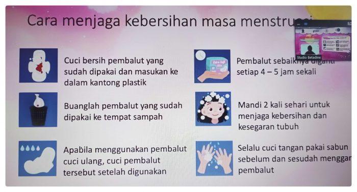 Cara jaga kebersihan saat menstruasi