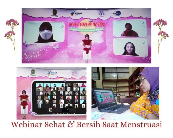 Webinar Bersih dan Sehat Saat Menstruasi