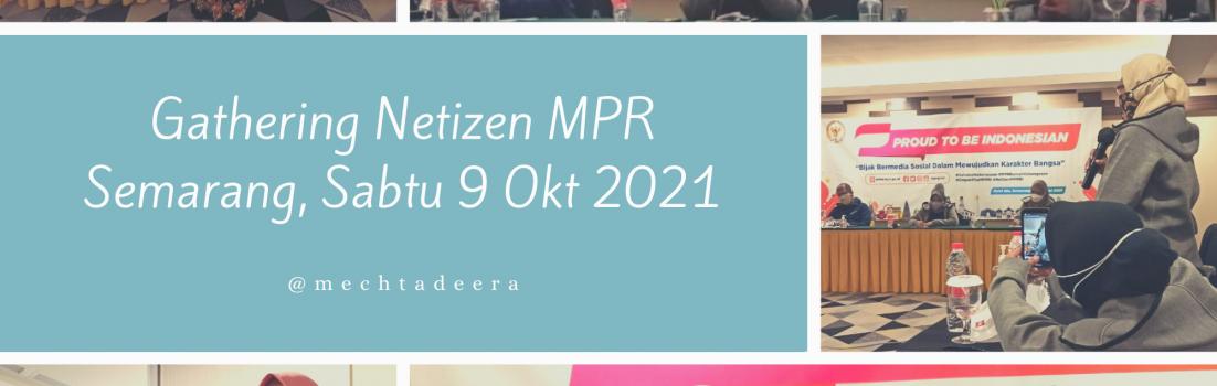 Gathering Netizen-MPR di Semarang