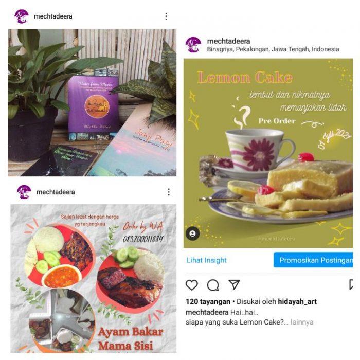 Promosi via Instagram